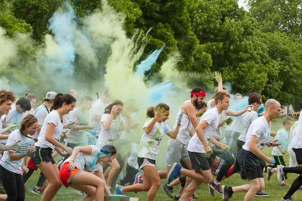 ASWWU Global Service Color Run (5-22-16)