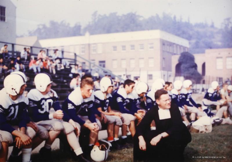 1954, Football Game