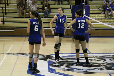 DHS JV Volleyball 08-20-2013