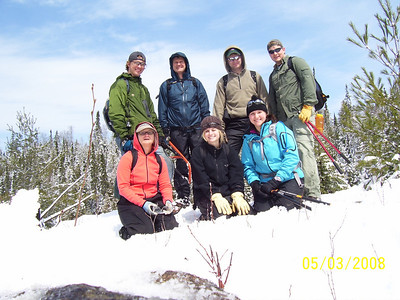 Brule Lake Trail - West  - Crew  and co-leader:  Steve Cinnamon and Eric Lieder