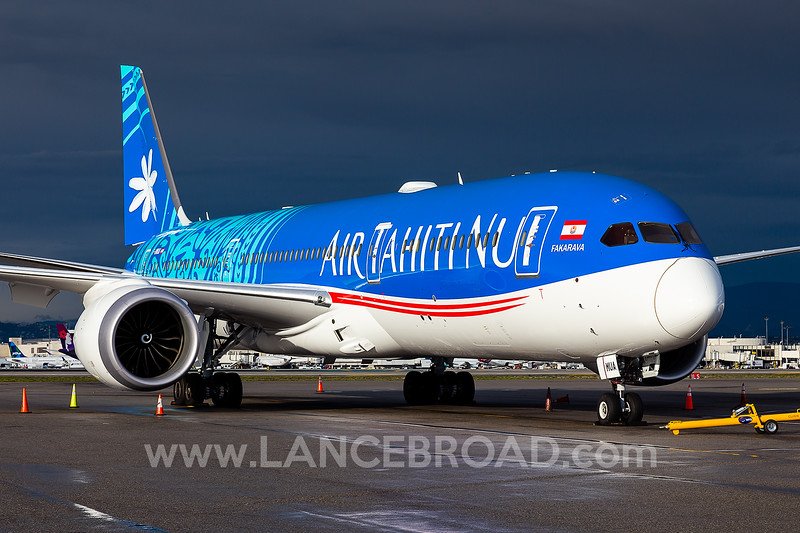 Air Tahiti Nui 787-9 - F-OMUA - LAX