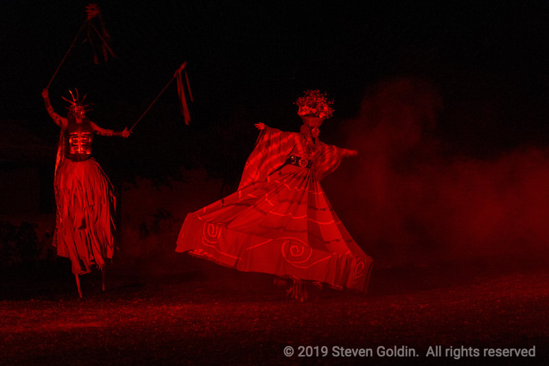 Peruvian Folklore Performance at Sol y Luna resort