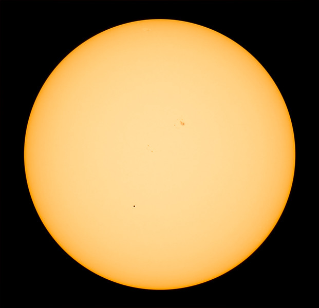 Sun & Mercury 2016-05-09 (stack)