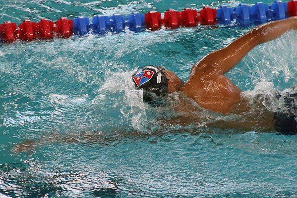 Swimming & Diving vs. Hargrave Military Academy - Jan 24