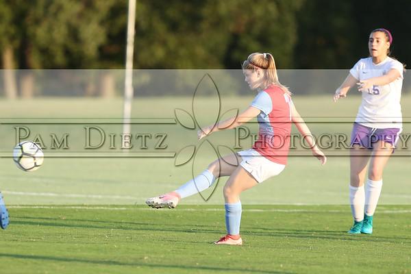 USJ v TCA girls soccer 9-10-18