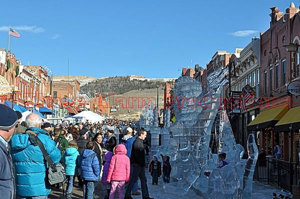 Cripple Creek Ice Festival 2013