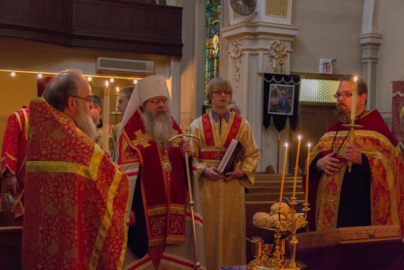 Visit of Metropolitan Tikhon