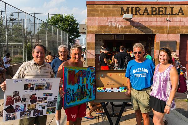 2013-07 | Carl Ameno 60th Birthday at Mirabella Pool