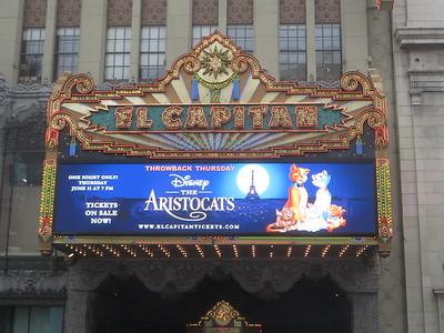 El Capitan Theatre - Tomorrowland