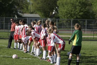 Girls Varsity Soccer - 2005-2006 - 5/8/2006 vs. Spring Lake