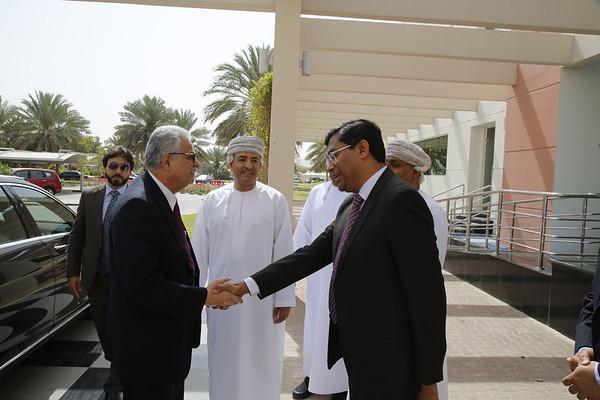 Ambassador in Oman visiting MEC