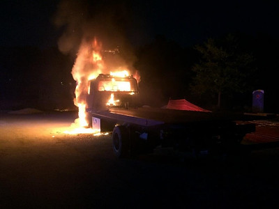 June 1st - North Main St. - Truck Fire