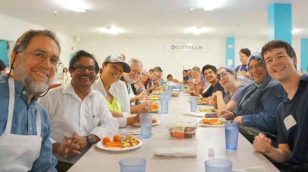 Abrahamic Reunion Community Service San Jose 2016