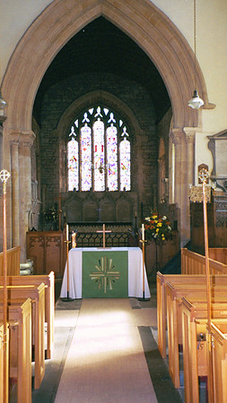 Church of St Peter and St Paul inside