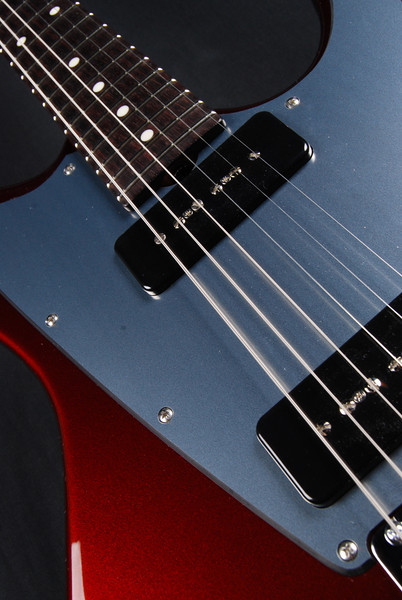 ElectraJet Custom, Bordeaux Over Black, G90 Pickups