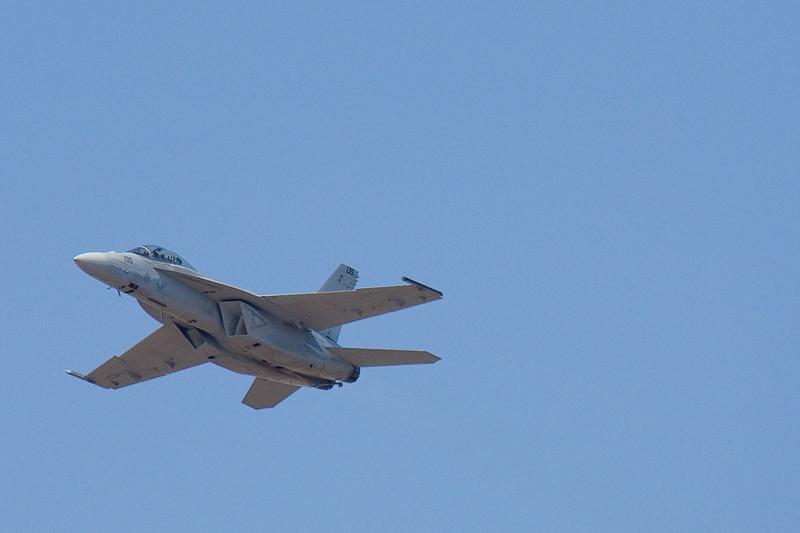 F-18 high speed pass