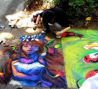 SCAD's Sidewalk Arts Festival 2013