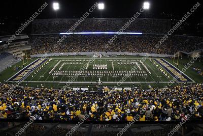 WVU vs Pittsburgh - November 27, 2009 - Halftime