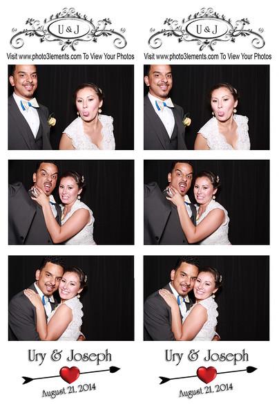 Ury & Joseph's Wedding 8-21-14