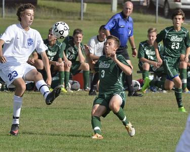 Shen at Saratoga Boys Soccer