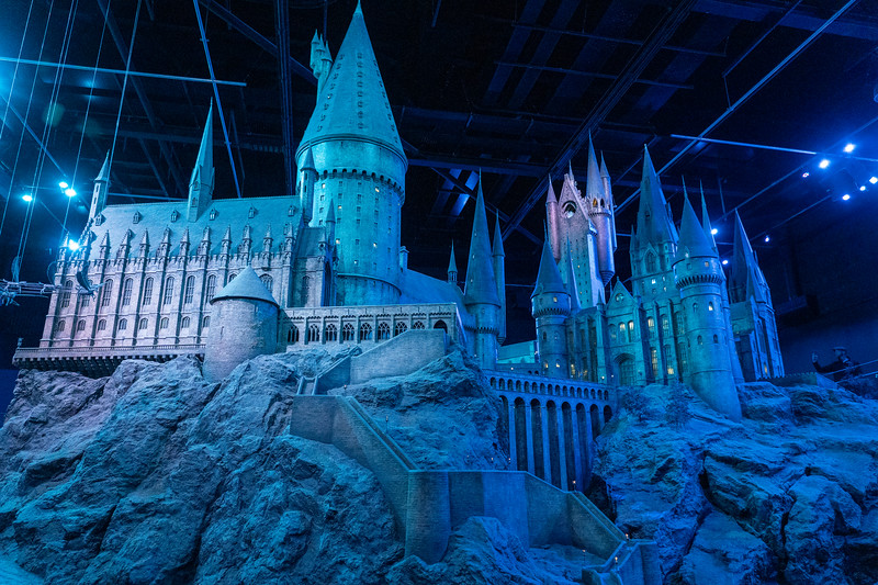 Hogwarts Castle model at Warner Bros. Studio Tour London