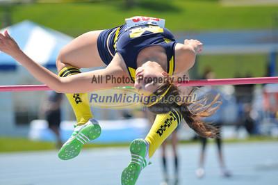 Women's High Jump - 2012 Gina Relays