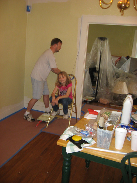 Painting Curates House May 9, 2009 020.JPG