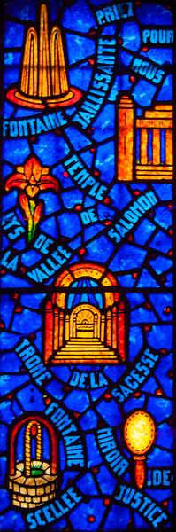 Saint-Etienne-l'Allier, Litany of The Virgin.
