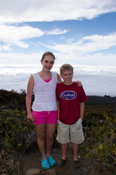 On the way to Haleakala 8000ft