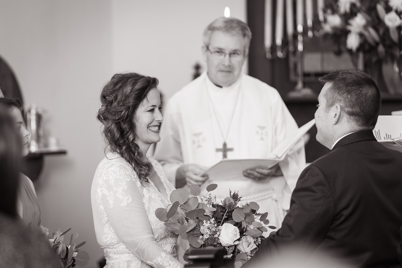 The Ceremony (b&w)