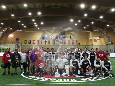 10/1/2016 - Caughnawaga Indians vs. Onondaga Redhawks (3rd place game LaxAllStars North American Invitational) - Tsha' Thoñ'nhes, Onondaga Nation (Onondaga Nation Field House, Nedrow, NY)
