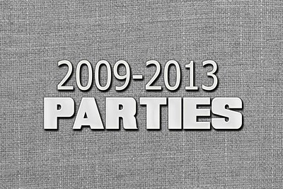Parties 2009 to 2013