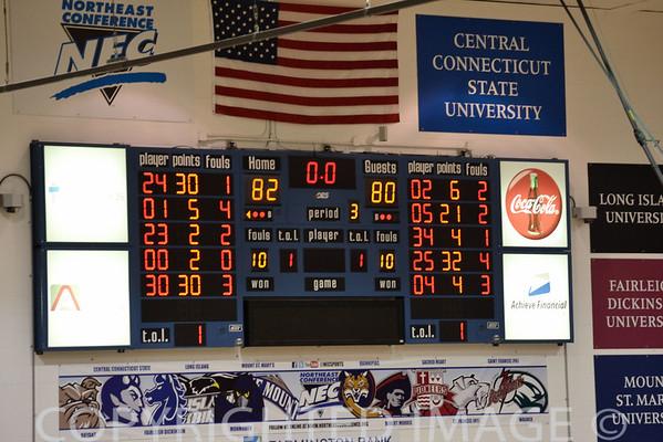 CCSU Basketball 2011