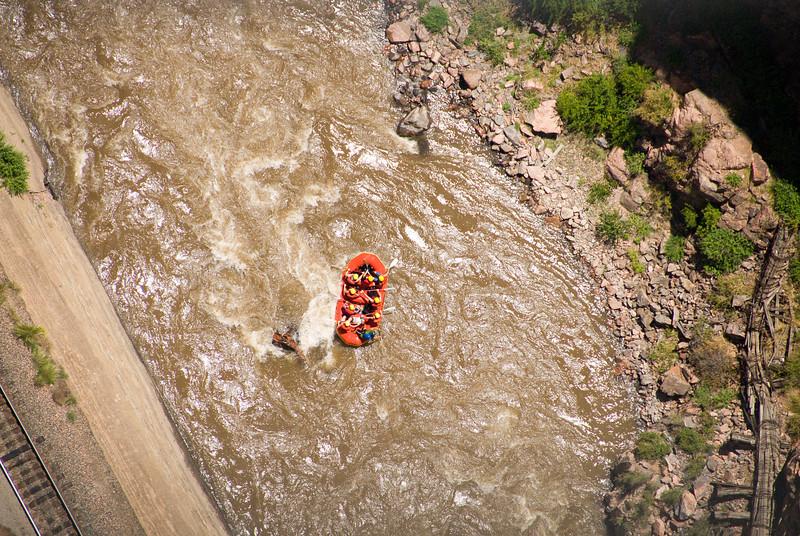 2007 Colorado Trip - Royal Gorge Rafters