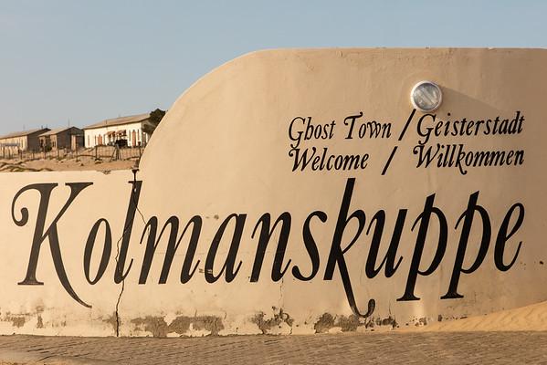 The Ghost Town of Kolmanskop