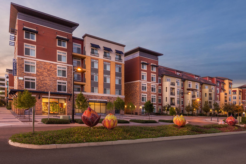 Chico Commercial Photography-Exterior-twilight-image-of-residential-apartments-in-Dublin-CA.jpg
