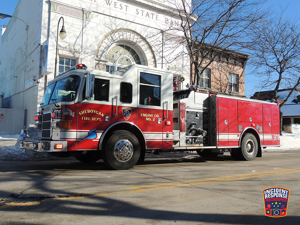 Electrical fire on February 19, 2014