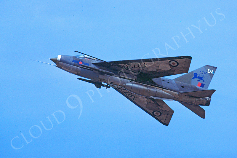 BAC Lightning 00002 BAC Lightning British RAF XR720 August 1983 by Wilfried Zetsche .JPG