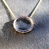 'I Will Return' Glass Oval Pendant, by Seal & Scribe 15
