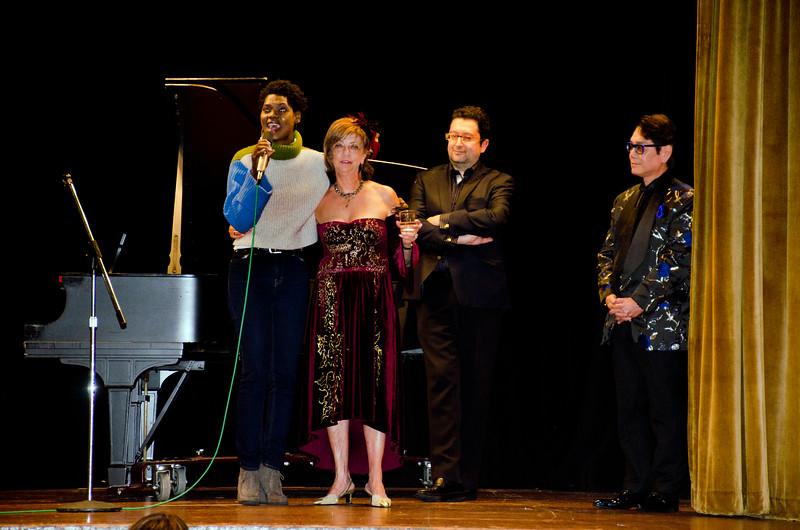 Ludmila, second on left - Ludmila Kisseleva-Eggleton birthday party at Hillside Club, Berkeley, CA