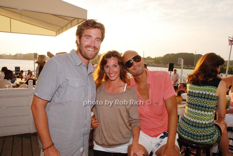 Greg Hahn, Andrinena Bonura and Mark Wesley