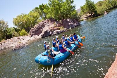 Tuesday - Spouse Rafting Trip