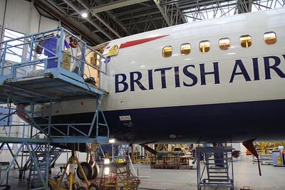 British Airways Maintenance Glasgow