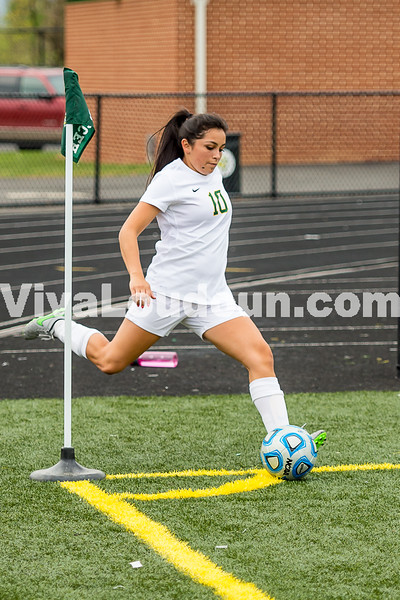 Girls Soccer: Park View vs Loudoun Valley 4.22.2016 (by Michael Hylton)