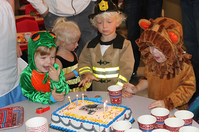 Birthday Party - Age 3, Savannah 2012