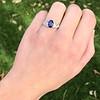 2.08ctw Sapphire and Diamond Ring, GIA No-Heat 28