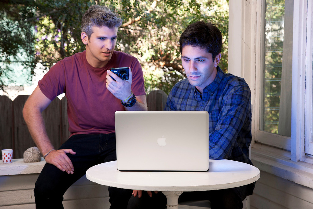 """. Nev Schulman and Max Joseph in MTV\'s  \""""Catfish: The TV Show\""""  from Season One. (Photo provided by MTV)"""