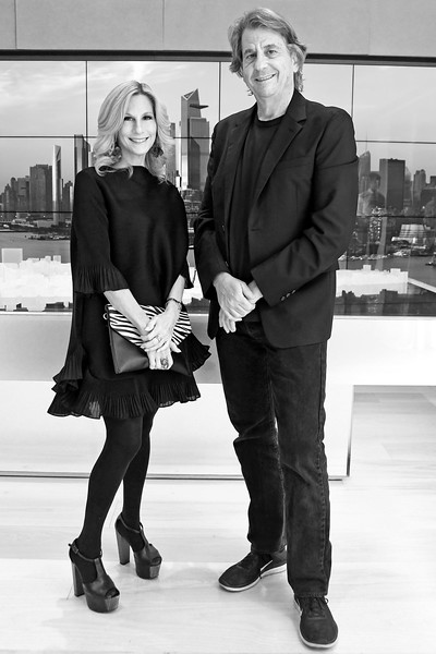 Randi Schatz, David Rockwell AVENUE MAGAZINE Presents the SALON DINNER & CONVERSATION with Architect and Designer DAVID ROCKWELL  10 Hudson Yards NYC, USA - 2017.10.17 Credit: Lukas Maverick Greyson