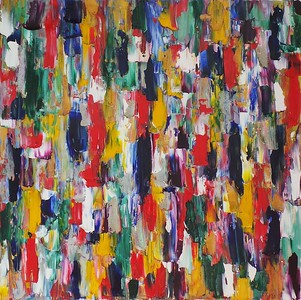 """The versatility of feelings"" (oil) by Anastasiia Bordiuzha"