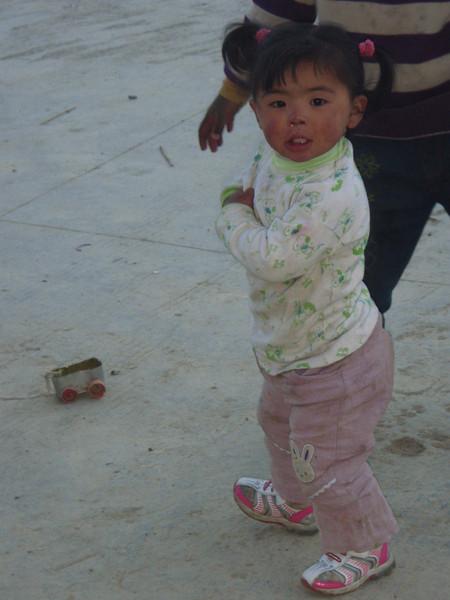 Girl from Tashi Zong (4.185m = 13,730ft) 4